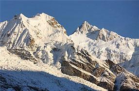 alpin himalaya berge indien