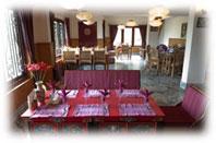 bamboo retreat hotel restaurant sikkim indien
