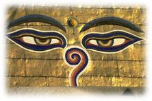 buddha tempel nepal