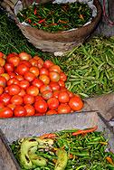 gemuese markt sikkim indien