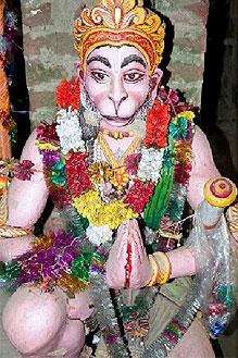 hanuman kultur reise indien