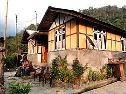 haus gast homestay sikkim indien