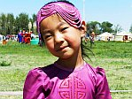 Girl Nadam Festival Gobi, Mongolia
