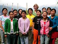 klassische massage workshop bamboo retreat sikkim indien