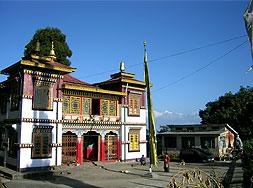 kloster bhutia busty darjeeling indien