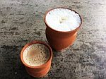 Traditional Chai Spice Tea Lassie Rajasthan, India