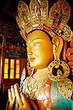 maytreya-statue buddha zukunft ladakh indien