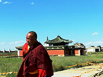 moench lama kloster karakorum mongolei