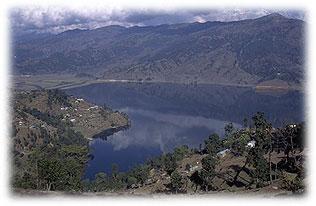 nepal landschaft see