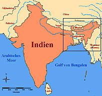 nord ost indien karte