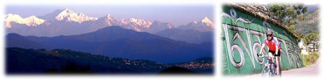 rad reise khangchendzonga koenigreich sikkim indien