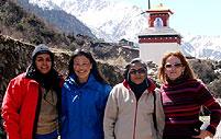 reise kultur gaeste nord sikkim thangu lachen indien