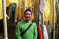 reiseleiter tsheten norbu bhutia yoksom sikkim indien