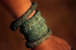 schmuck armreif stamm arunachal pradesh indien