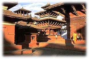 tempel historisch nepal