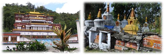 tibetisch buddhismus kloster mantra sikkim indien