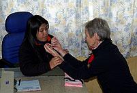 tibetische puls diagnose sikkim indien