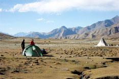 trekking camp ladakh indien