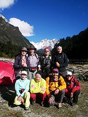 trekking wandern expeditionen nord sikkim yumthang indien