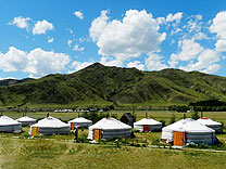 yurte karakorum camp mongolei